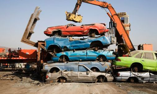 How to dispose of an old car